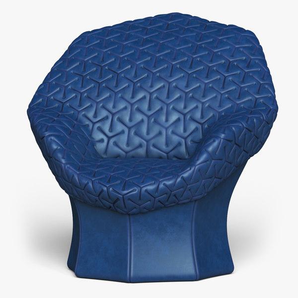 juliet chair 3D model