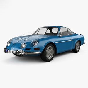 alpine renault a110 3D model