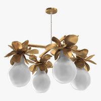 decor chandelier lamp 3D model