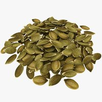 Peeled Pumpkin Seeds Pile