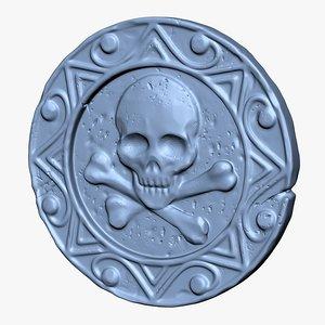 3D coin print stl model
