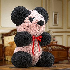 bear flower 3D model