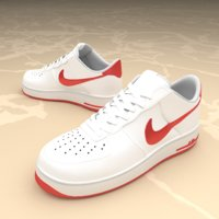 shoes air nike 3D model
