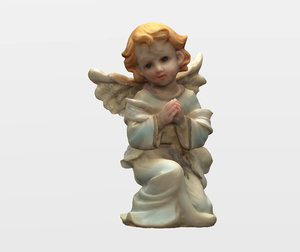 angel statuette scan 3D model