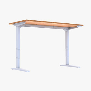 3D model adjustable standing desk