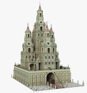 castle tower model