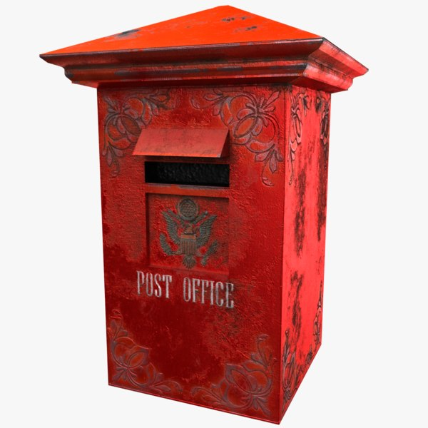 3D model mail box