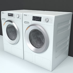3D dryer washing machine miele