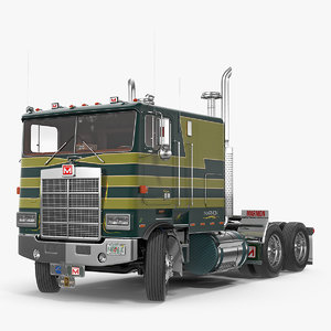 3D marmon 110p truck rigged model