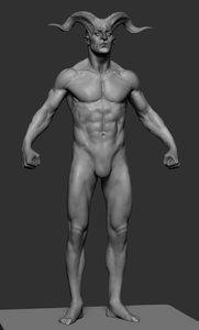 creature anatomy ztl 3D model