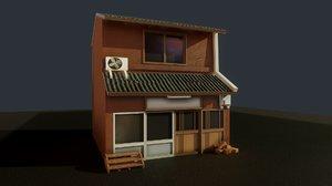 japanese house japan 3D model