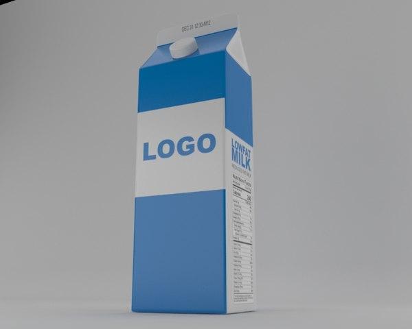 3D milk pack