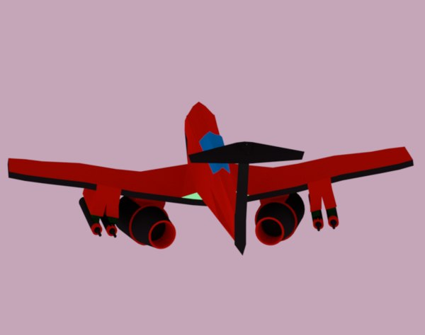 fighter airplane 3D