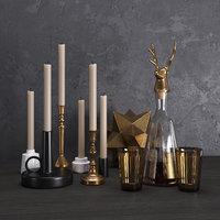 Decorative set with deer Joshua