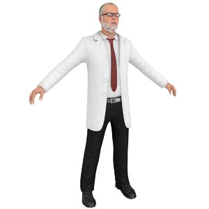 3D doctor psychiatrist