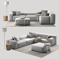 sofa delano pianca 3D model