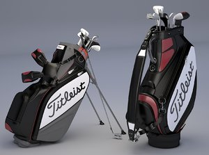 titleist golf bags tour model