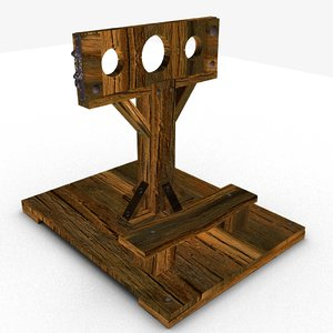 3D medieval stock