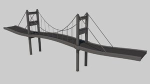 3D istanbul bridge model
