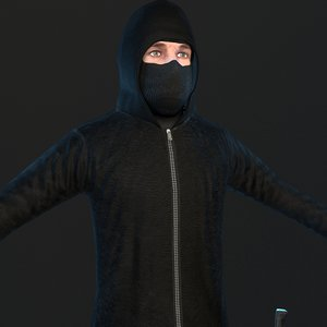 3D robber 2019