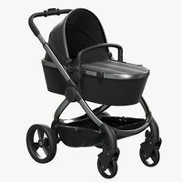 3D icandy peach carrycot model