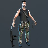 3D guerrilla soldier games