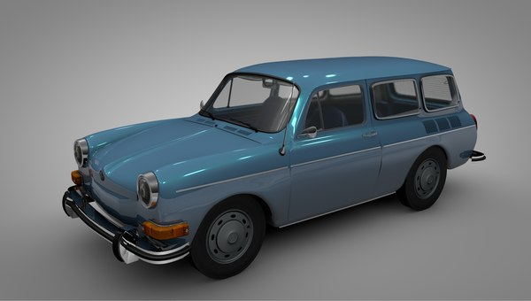 3D volkswagen type 36 variant model