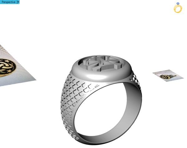 jewellry rings model