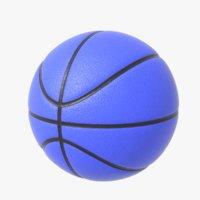 3D basketball sport basket