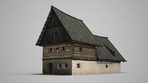 ancient building farm model