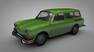 volkswagen type 36 variant 3D