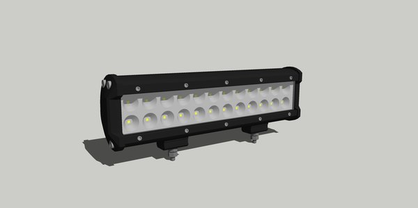 3D model 24 led light