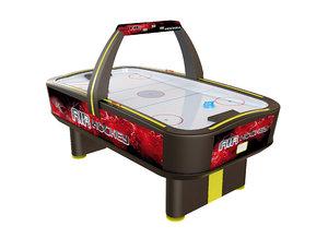 air hockey table - 3D
