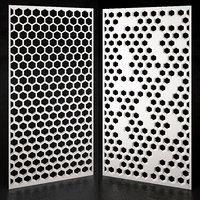 decorative partition set 07 model