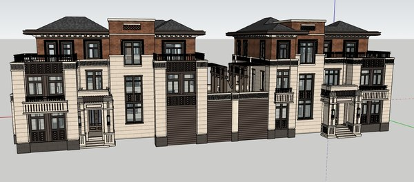 architecture exterior building model