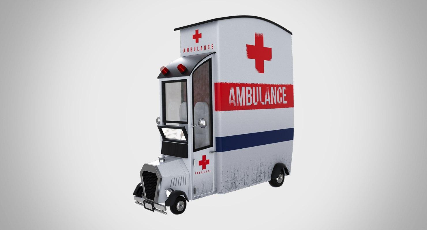Animé De D'ambulance Dessin Voiture 54cALSj3qR