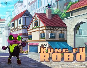 Kung-Fu ROBO Character model by Animation Movie Production Companies