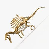 Spinosaurus dinosaur skeleton