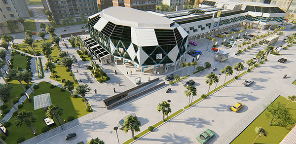 shopping block transformation mall 3D