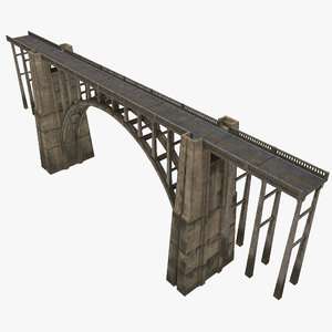 bridge california 3D
