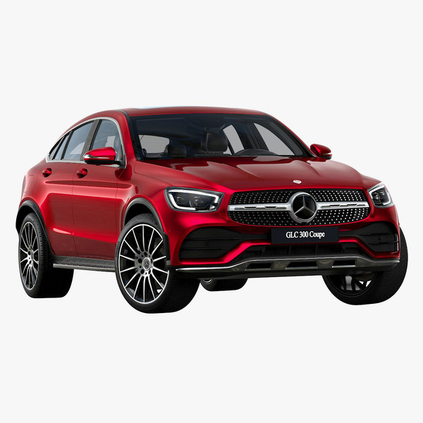 2020 mercedes-benz glc coupe 3D