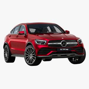 2020 mercedes-benz glc coupe 3D