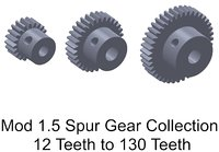 MOD 1.5 SB Spur Gear Collection