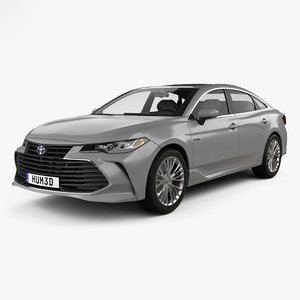 toyota avalon limited 3D model