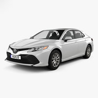 toyota camry le 3D model