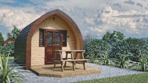 camping pod 3D model