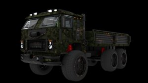 kamaz-53501 heavy truck kamaz 3D