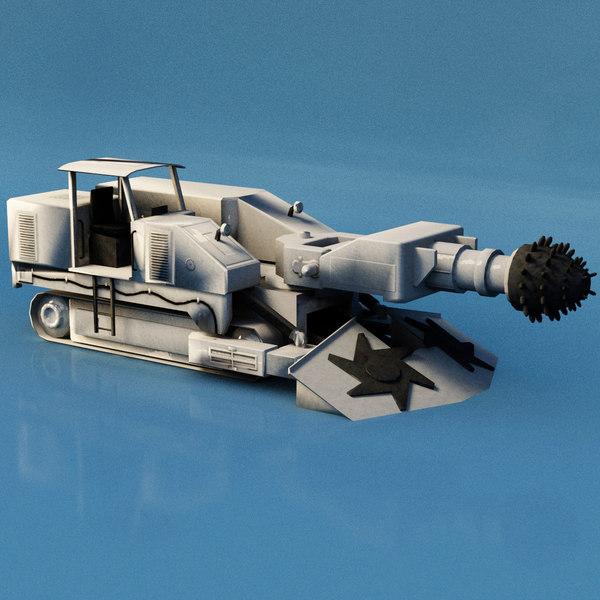 3D drilling car