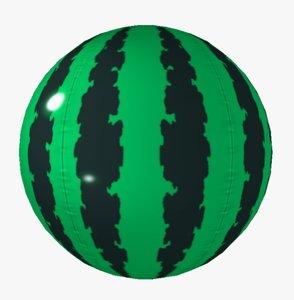 watermelon toon 3D