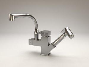 faucet kitchen 3D model
